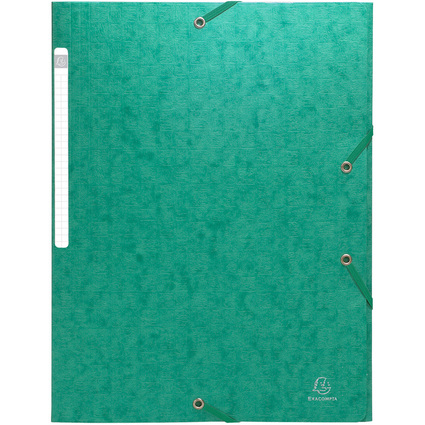 EXACOMPTA Sammelmappe, aus Karton, 425 g/qm, grün