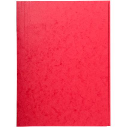 EXACOMPTA Sammelmappe, DIN A4, Karton, rot