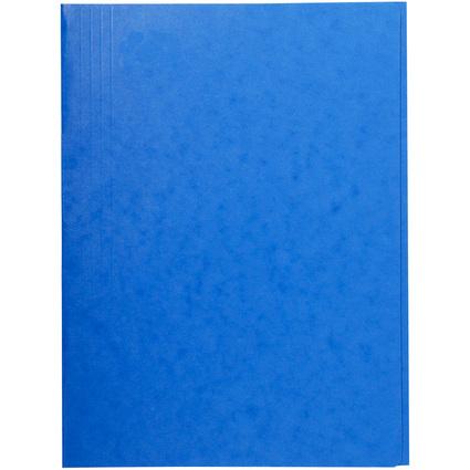 EXACOMPTA Sammelmappe, DIN A4, Karton, blau