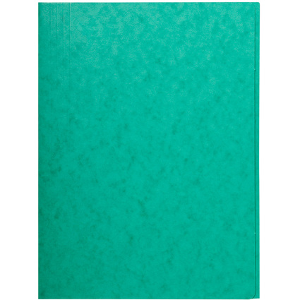 EXACOMPTA Sammelmappe, DIN A4, Karton, grün