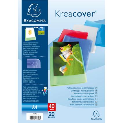 EXACOMPTA Sichtbuch, DIN A4, PP, farbig sortiert