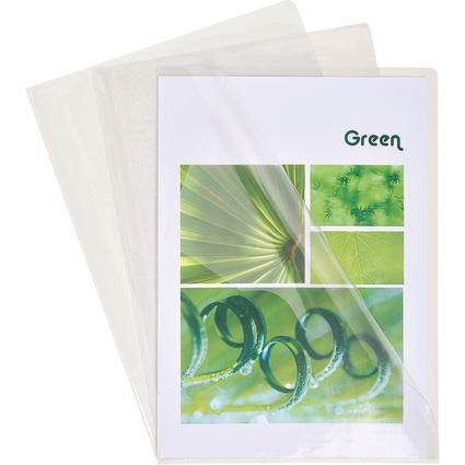 EXACOMPTA Sichthülle Premium, DIN A4, PVC 0,18 mm, glasklar