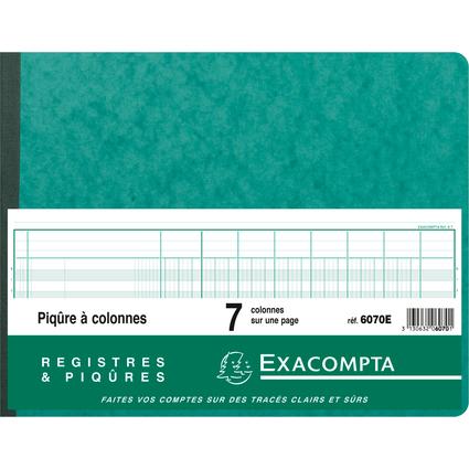 EXACOMPTA Piqûre à colonnes, 7 colonnes, 24 lignes