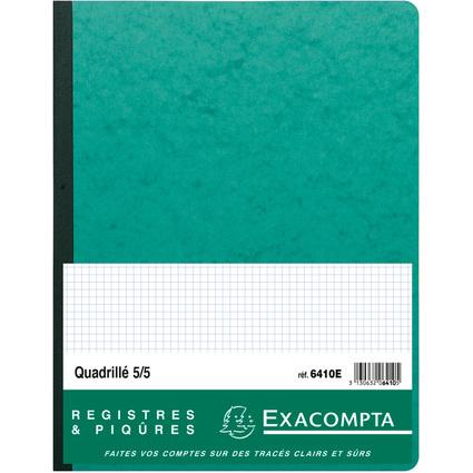 """EXACOMPTA Piqûre """"Quadrillé 5/5 folioté"""", 320 x 250 mm"""