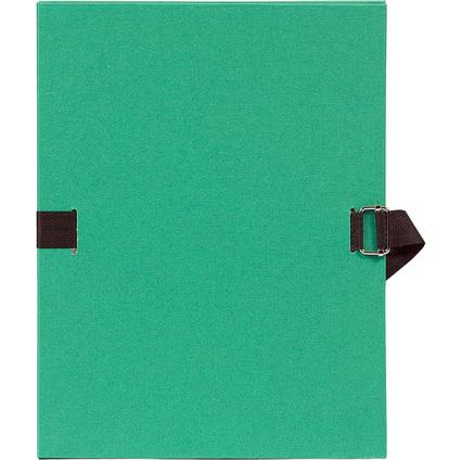 EXACOMPTA Dokumentenmappe, DIN A4, Karton, hellgrün