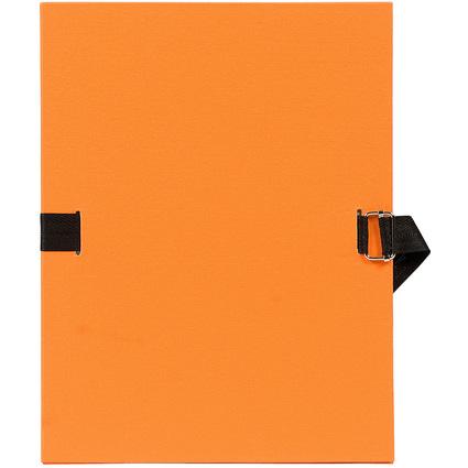 EXACOMPTA Dokumentenmappe, DIN A4, Karton, orange