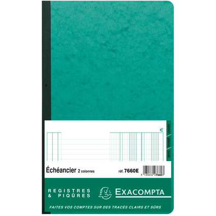 "EXACOMPTA Geschäftsbuch ""Echéancier"", 320 x 195 mm"