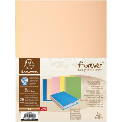 EXACOMPTA Sammelmappe, aus Karton, 320 g/qm, farbig sortiert