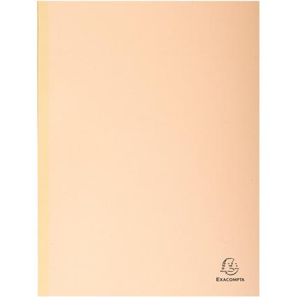 EXACOMPTA Sammelmappe, aus Karton, 320 g/qm, beige