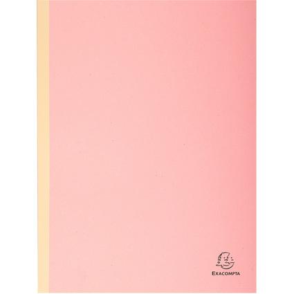 EXACOMPTA Sammelmappe, aus Karton, 320 g/qm, rosa
