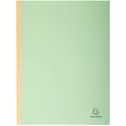 EXACOMPTA Sammelmappe, aus Karton, 320 g/qm, grün