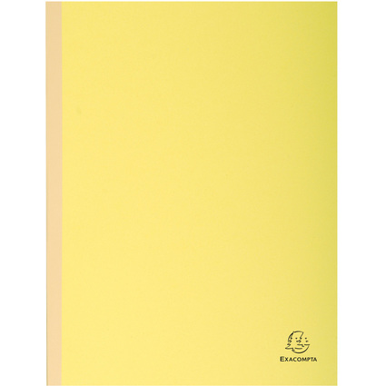 EXACOMPTA Sammelmappe, aus Karton, 320 g/qm, gelb