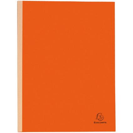 EXACOMPTA Sammelmappe, aus Karton, 320 g/qm, orange