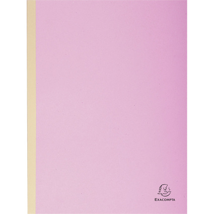EXACOMPTA Sammelmappe, aus Karton, 320 g/qm, lila