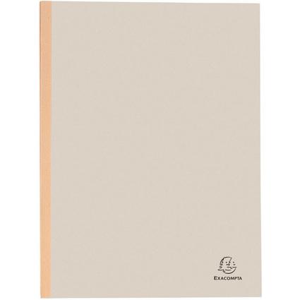EXACOMPTA Sammelmappe, aus Karton, 320 g/qm, grau
