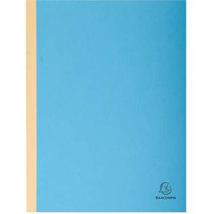 EXACOMPTA Sammelmappe, aus Karton, 320 g/qm, blau