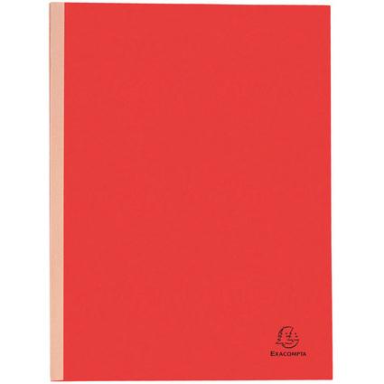 EXACOMPTA Sammelmappe, aus Karton, 320 g/qm, rot