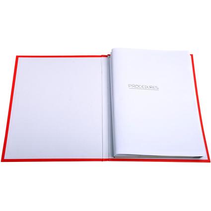 EXACOMPTA Aktendeckel für Rechtsanwälte, DIN A4, weiß