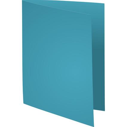 EXACOMPTA Aktendeckel SUPER 60, DIN A4, 60 g/qm, blau