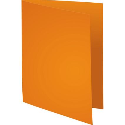 EXACOMPTA Aktendeckel SUPER 60, DIN A4, 60 g/qm, orange