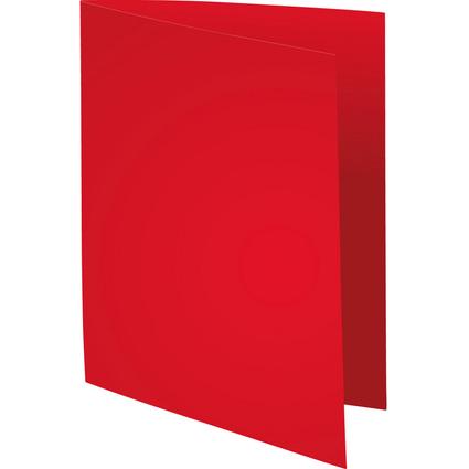 EXACOMPTA Aktendeckel SUPER 60, DIN A4, 60 g/qm, rot