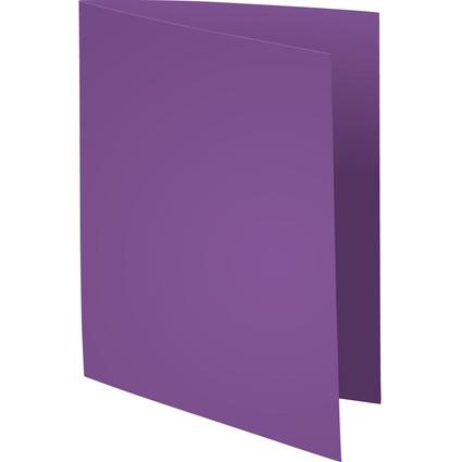 EXACOMPTA Aktendeckel SUPER 60, DIN A4, 60 g/qm, violett