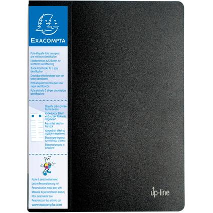 EXACOMPTA Sichtbuch, DIN A4, PP, 40 Hüllen, schwarz