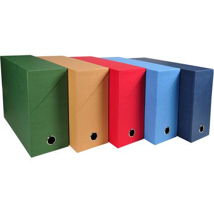 EXACOMPTA Dokumentenmappe, DIN A4, Karton, farbig sortiert