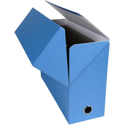 EXACOMPTA Dokumentenmappe, DIN A4, Karton, hellblau