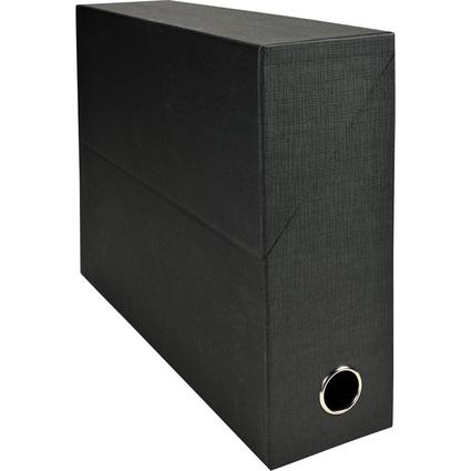 EXACOMPTA Archivbox, Karton, Rückenbreite 90 mm, schwarz