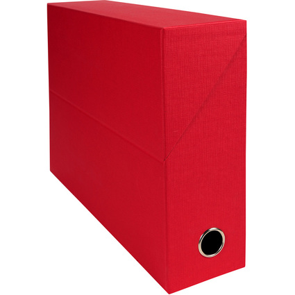 EXACOMPTA Archivbox, Karton, Rückenbreite 90 mm, rot