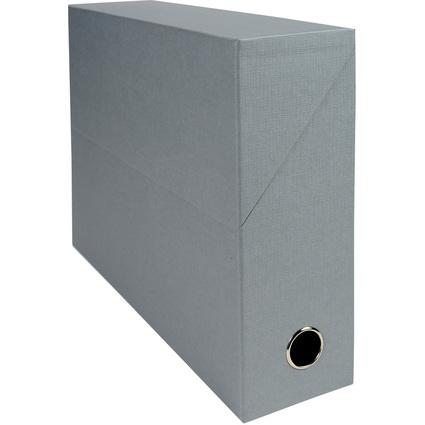 EXACOMPTA Archivbox, Karton, Rückenbreite 90 mm, grau
