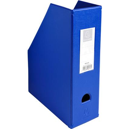 EXACOMPTA Stehsammler, DIN A4, Karton, 100 mm, blau