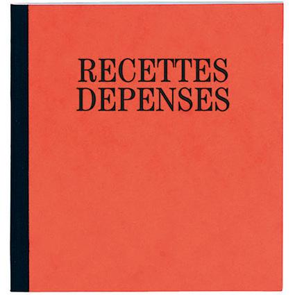 """EXACOMPTA Geschäftsbuch """"Recettes et Dépenses"""", 210 x 190 mm"""