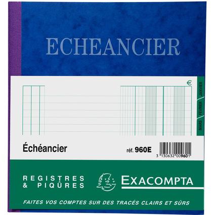 "EXACOMPTA Geschäftsbuch ""Echéancier"", 210 x 190 mm"