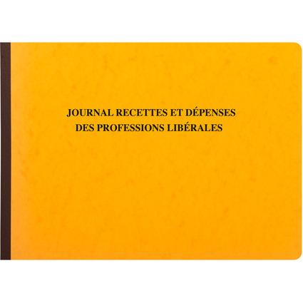 "EXACOMPTA Geschäftsbuch ""Recettes/Dépenses professions libé-"