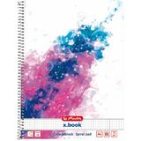 herlitz collegeblock Color Splash, din A4, pink