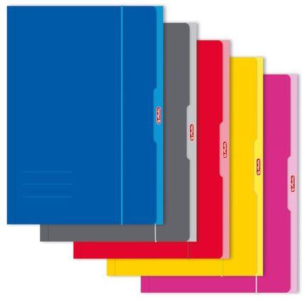 herlitz Zeichnungsmappe, DIN A3, farbig sortiert