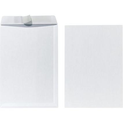 herlitz Versandtasche, DIN C4, ohne Fenster, weiß