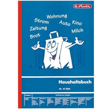 """herlitz Formularbuch """"Haushaltsbuch"""", DIN A5, 40 Blatt"""