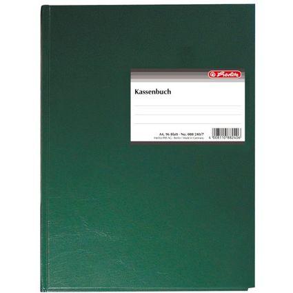 "herlitz Formularbuch ""Kassenbuch"", DIN A4, 96 Blatt"