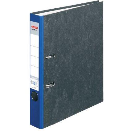 herlitz Ordner maX.file nature, Rückenbreite: 50 mm, blauer