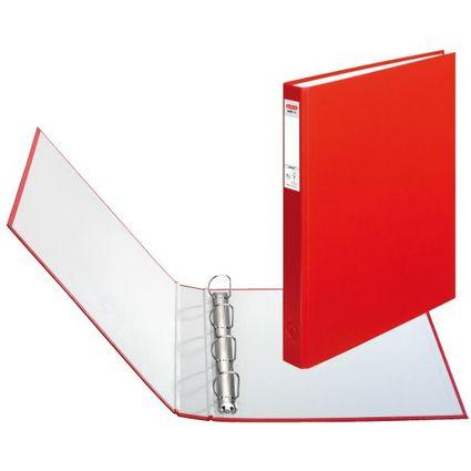 herlitz Ringbuch maX.file protect, A4, 4-Ring-Mechanik, rot