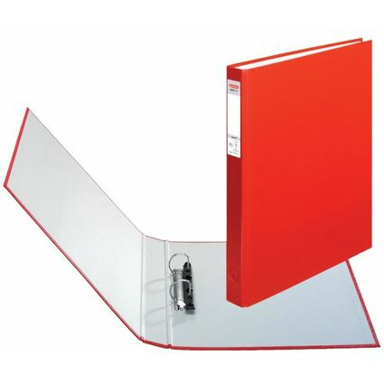 herlitz Ringbuch maX.file protect, A4, 2-Ring-Mechanik, rot