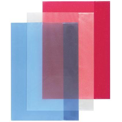 herlitz Heftschoner DIN A4, PP, transparent-sortiert