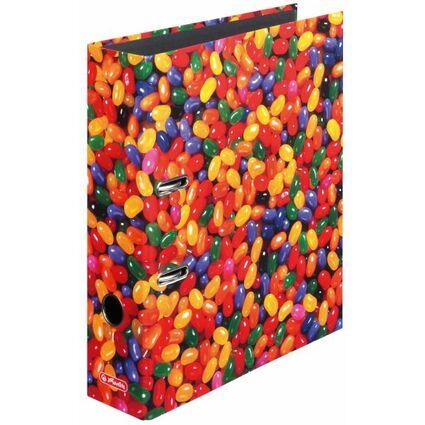 herlitz Motivordner maX.file Jelly Beans, A4, Rückenbr: 80mm