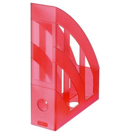 herlitz Stehsammler Classic, DIN A4, Polystyrol, rot-