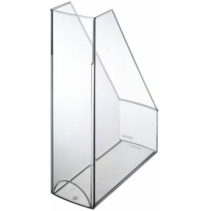 herlitz Stehsammler, DIN A4, Polystyrol, transparent