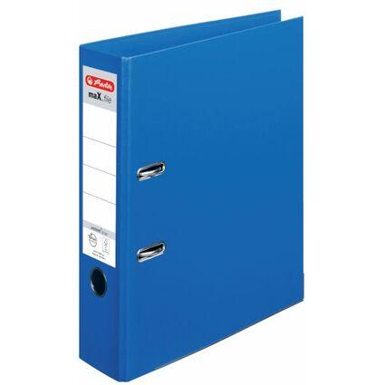 herlitz Ordner maX.file protect plus, Rückenbr.: 80 mm, blau