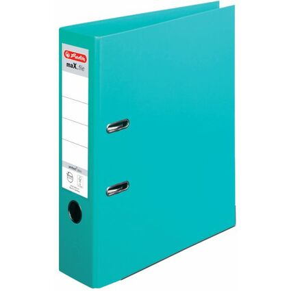herlitz Ordner maX.file protect plus, Rückenbr.: 80 mm, mint